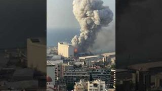 Explosion in Beirut August 4, 2020